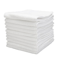 3 Layers White Microfibre Baby Cloth Nappy Inserts