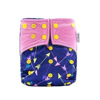 Arrows Design Bamboo Charcoal Cloth Nappy