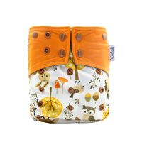 Forest Design Bamboo Charcoal Cloth Nappy