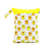 Waterproof Double Zip Wet Bag Lions 30x40cm