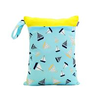 Waterproof Double Zip Wet Bag Boats 30x40cm