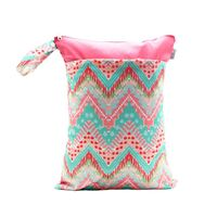 Waterproof Double Zip Wet Bag Bohemian 30x40cm