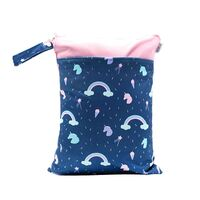 Waterproof Double Zip Wet Bag Unicorn 30x40cm