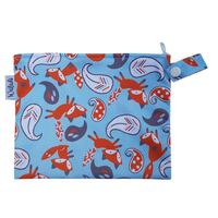 Small Waterproof Wet Bag with Zip 19 x 16cm - Fox Design