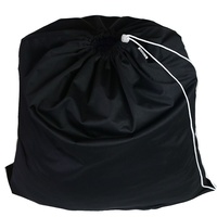 Black Drawstring Waterproof Wet Bag