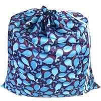 Whales Drawstring Waterproof Wet Bag
