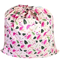 Flamingo Drawstring Waterproof Wet Bag