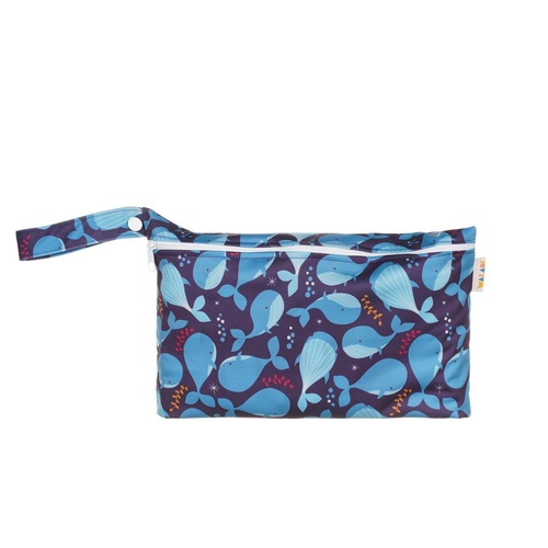 Pouch Wet Bag - Blue Whales