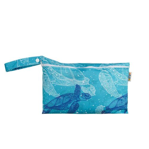 Pouch Wet Bag - Turtles